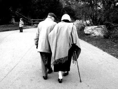 pareja ancianos